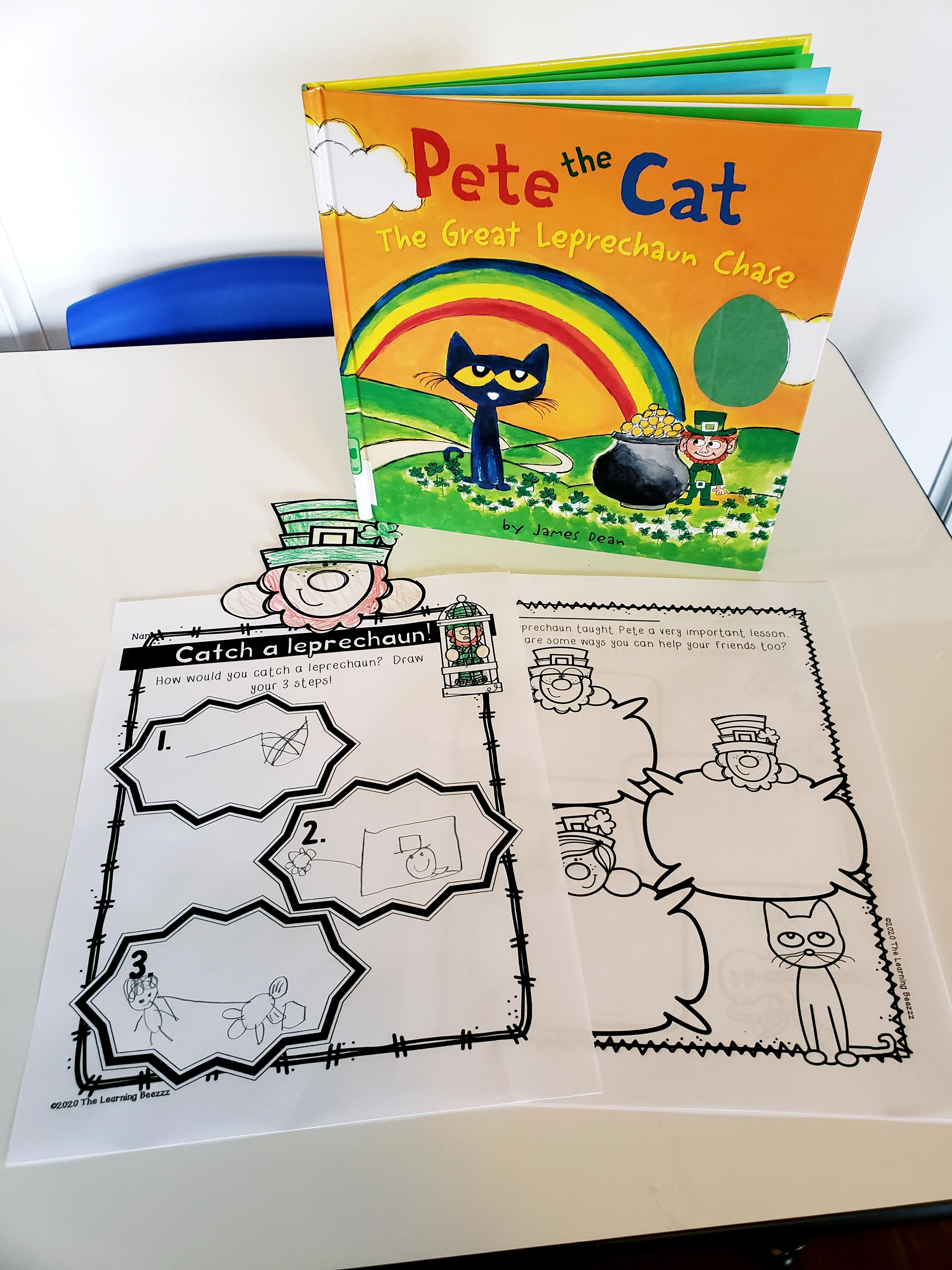 Pete The Cat The Great Leprechaun Chase The Learning Beezzz