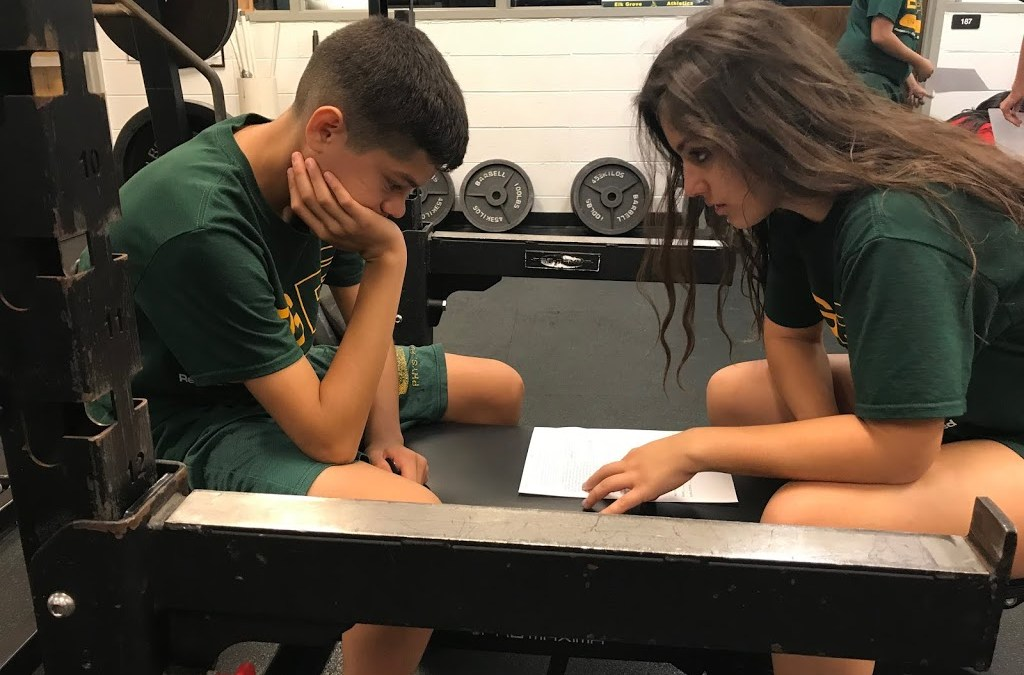 A Year in Learning at Elk Grove: Introduction to Strength and Conditioning Defining Learning