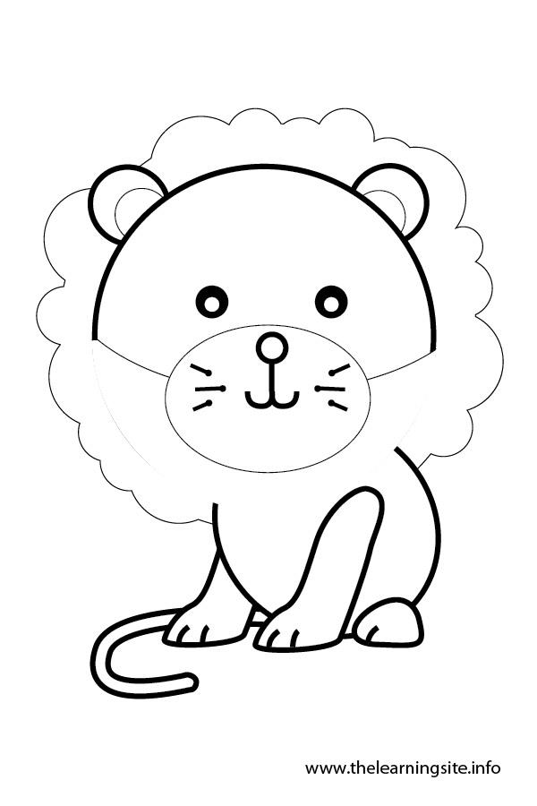 Lion Flashcard
