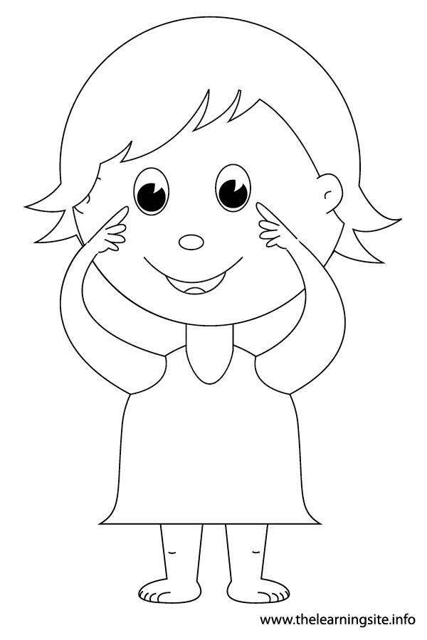 My Body Belongs To Me Coloring Sheet Coloring Pages