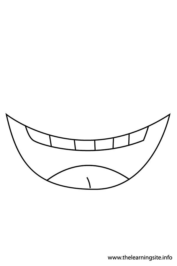 Mouth Flashcard 3