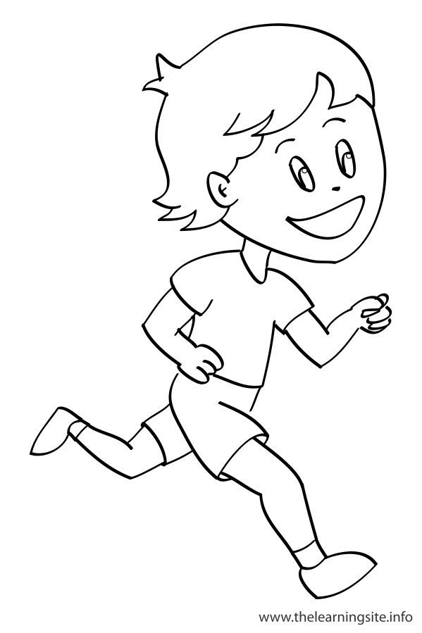 Running Coloring Pages Coloring Pages