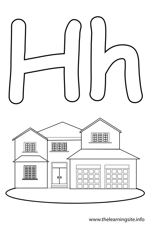 Lower Case Letter H Coloring Pages Only Coloring Pages