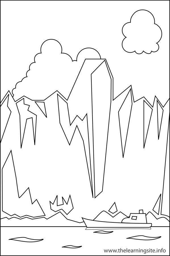 Landforms Coloring Pages Coloring Pages