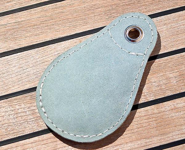 Leather Heaving Line Bag