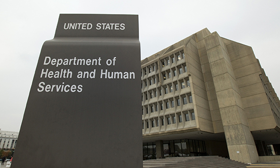 The headquarters of the U.S. Department of Health and Human Services is seen in Washington in this file photo. The department Feb. 1 issued revised regulations related to the contraception mandate and religious concerns under the Patient Protection and Affordable Care Act. U.S. bishops had lambasted the mandate as violating religious freedom. (CNS photo/Nancy Phelan Wiechec) (Feb. 1, 2013) See HHS-REVAMP Feb. 1, 2013.
