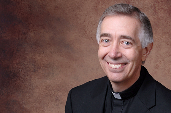 Father Francis Hund now shares a name with Pope Francis.