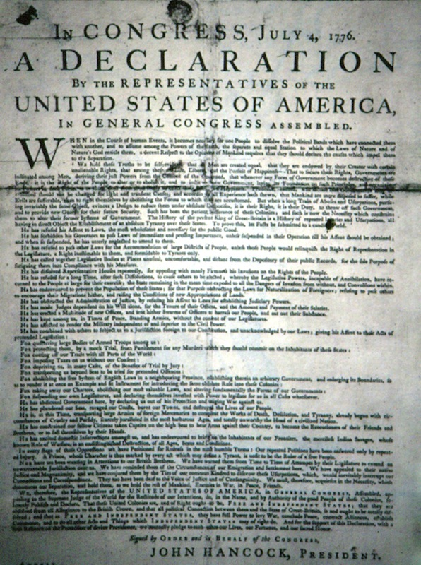 How the Declaration of Independence Can Still Change the World