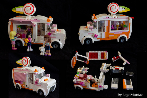 Lego Friends Ice Cream Van