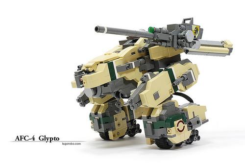 Legorobo's mecha