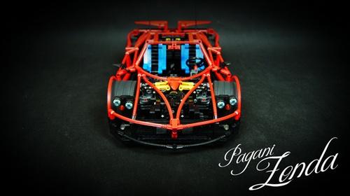 Lego Supercar Zonda