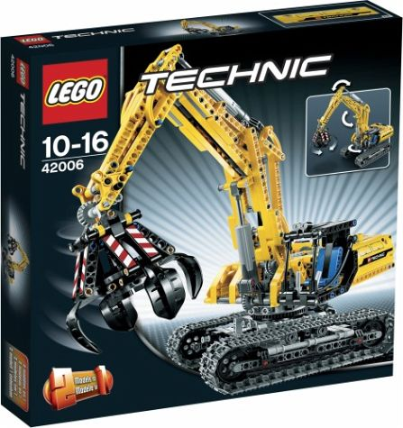 Lego Technic 42006 Claw, New 2013