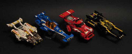 Lego Spaceship Race