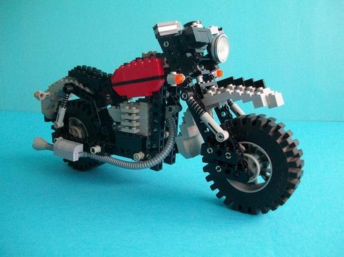 Lego Technic Bike