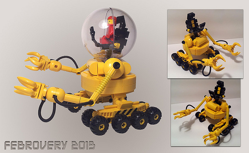 Lego Classic Space Rover