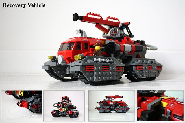 Lego Thunderbirds Rescue
