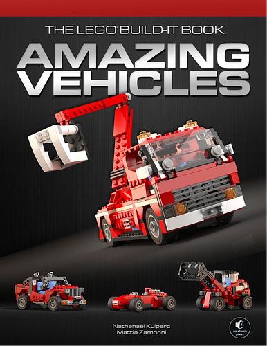 Amazing Lego Vehicles Book