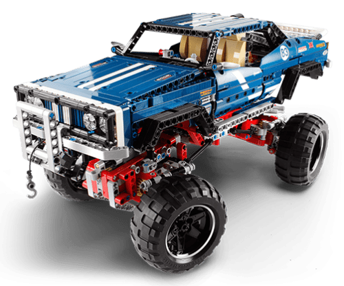 New for 2013! New Lego Technic 4x4 Redux!