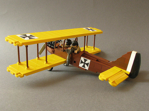 Lego German Bomber