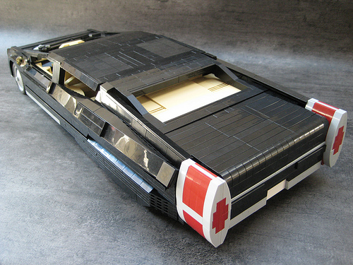 The coolest Lego car ever