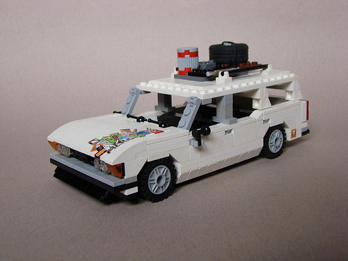 Lego Fiat 125P Kombi