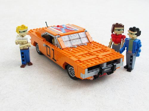 Lego Dukes of Hazzard Dodge Charger