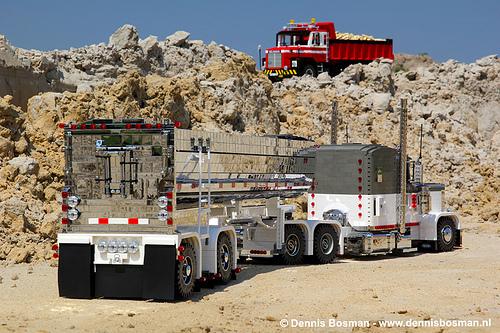 Lego Dump Trucks