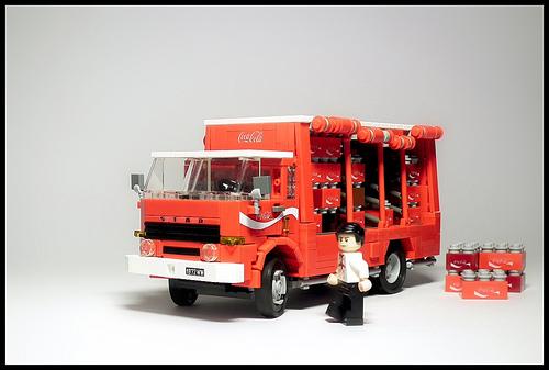 Star 28 Coca Cola Truck