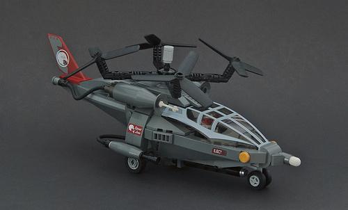 Futuristic Lego Helicopter