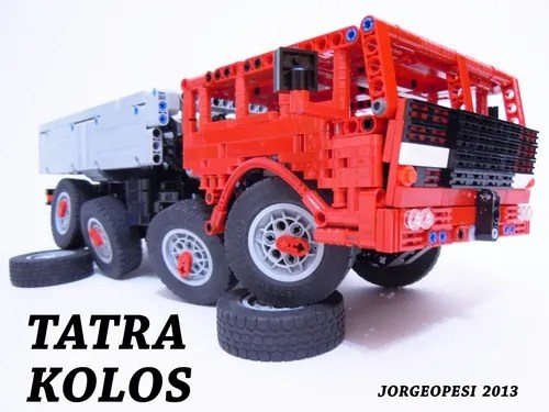 Lego Tatra 8x8