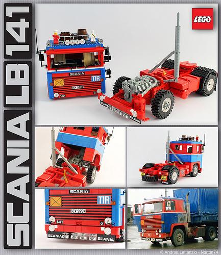 Lego Scania LB 141 Truck