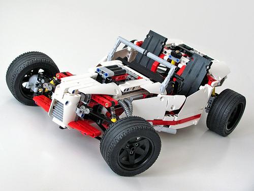 Lego 42000 Hot Rod