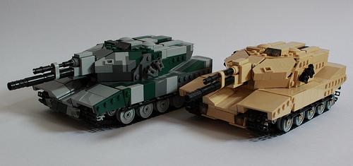 Lego Main Battle Tanks