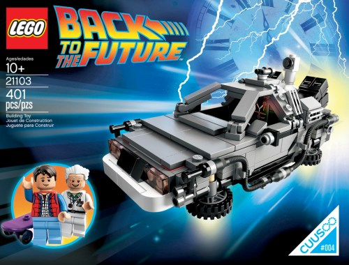 Lego 21103 DeLorean Back To The Future