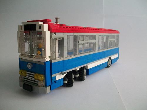 Lego Italian Job