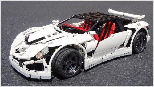 Lego Supercar Vampire GT