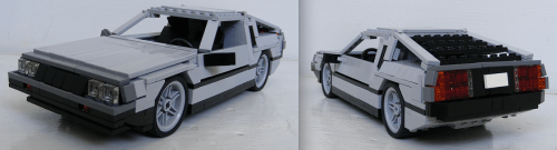Lego DeLorean DMC-12