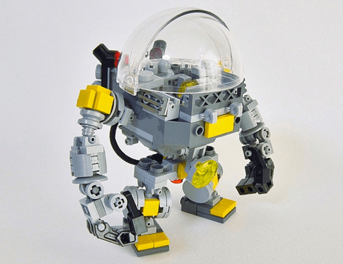 Lego Mech Fish
