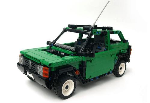 Lego Fiat Panda 4x4