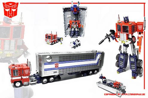 Lego Optimus Prime Transformer