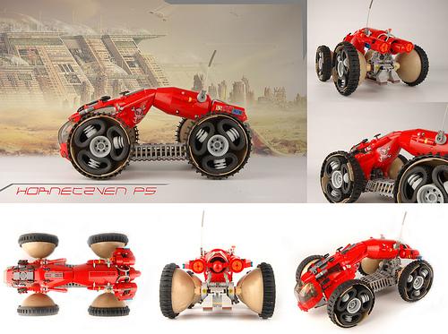 Lego Sci-Fi Vehicle