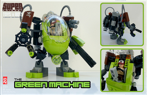 Lego Green Machine