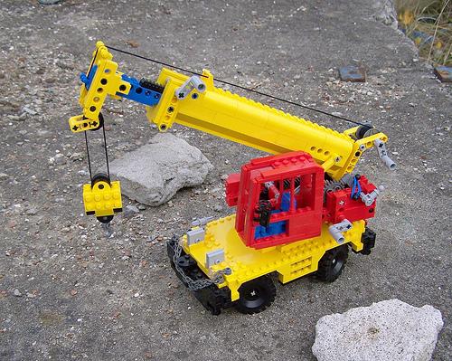 Lego 855 Crane