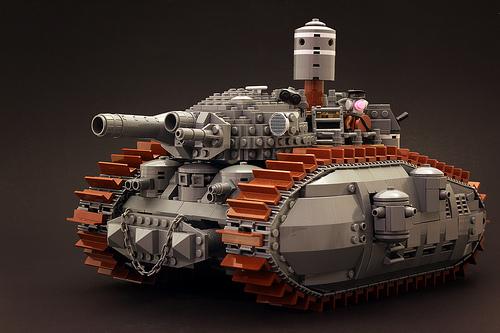 Lego Bad Guy No.1 Tank