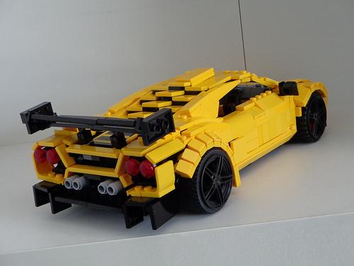 Lego Burnout Revenge