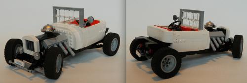 Lego T-Bucket Hot Rod