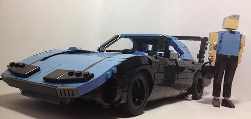 Lego Plymouth Superbird