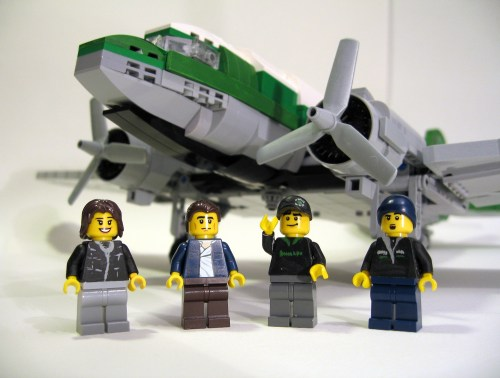 Lego Buffalo Airways Ice Pilots DC-3