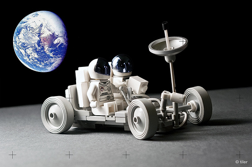Lego Apollo Luna Rover