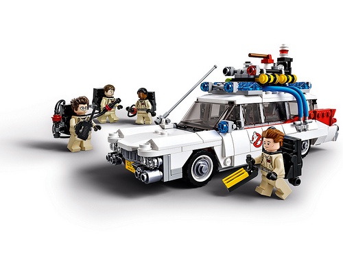 Lego 21108 Ghostbusters Ecto-1 Preview